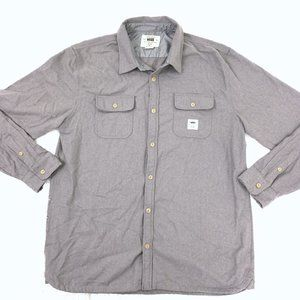 Vans Geoff Rowley Heavy Button Down Work Shirt XL